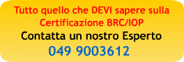 certificazione brc imballaggi